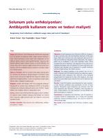 PDF - Solunum yolu enfeksiyonları