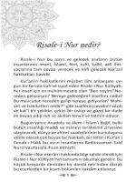 Risale-i Nur nedir?