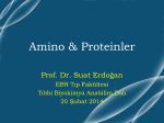 Ders1-Amino asitler_Beslenme ve Diyetetik Bölümü