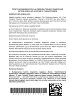 türk telekomünikasyon a.ş. fiberlink teçhizat kampanyası katılım