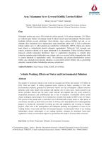 Araç Yıkamanın Su Ve Çevresel Kirlilik Üzerine Etkileri