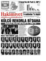 12 Mart 2015 Persembe Corum Hakimiyet Gazetesi
