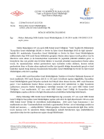 Maliye Bakanlığı Milli Emlak Genel Müdürlüğünün 21.04.2014 tarihli