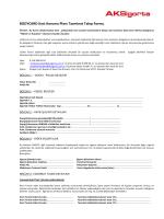 BODYCARD Kart Koruma Planı Tazminat Talep Formu