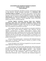 uluslararası adli toksikoloji kongre ve çalıştayı
