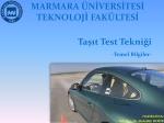 Vehicle Level Test