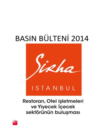 27 Kasım 2014 - Sirha İstanbul