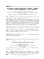 TaksonlarınınMorfolojik ve Palinolojik Yönden İncelenmesi(Liliaceae)