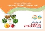 bingol - TC Gıda Tarım ve Hayvancılık Bakanlığı