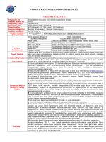 bülten - Türkiye Kano Federasyonu