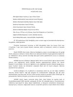 19 Eylül 2014 MÜSİAD Bandırma GİK Toplantısı