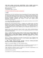 Yeni KDV Genel Uygulama Tebliğinde D.İ.İ.B