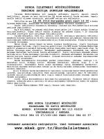 14.08.2014 Tarihli Yerinde Satış Hurda Malzeme İhale listesi
