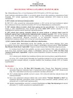 2014 yılı hac kayıtları - Diyanet İşleri Başkanlığı