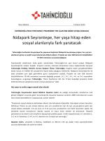 Nidapark Seyrantepe, her yaşa hitap eden sosyal