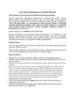 TÜBITAK - 2014 Türk Alman Bilim yılı etkinliği desteği