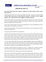 sırk 2014-41 kdv tebliğinde yapılan değişiklikler hk.