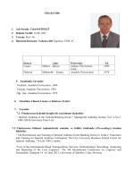 Prof.Dr.Celal KEPEKÇİ - Beykent Üniversitesi