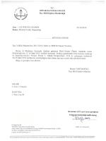 Etkinlik Tarihi - Dinar İlçe Milli Eğitim Müdürlüğü