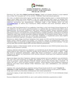 2013 Yılı Olağan Genel Kurul İlan Metni ve Gündemi