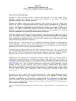 BAGFAŞ Bandırma Gübre Fabrikaları A.Ş. 27 Mart 2014 Tarihli