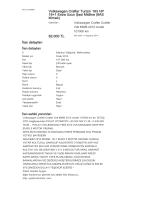 Volkswagen Crafter Turizm 163 HP 16+1 Extra Uzun Şasi Midline