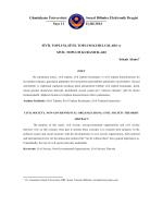 Sivil Toplum, Sivil Toplum Kuruluşları ve Sivil Toplum Kuramcıları