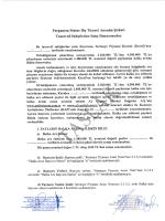 Pergamon Status Dış Ticaret Anonim Şirketi Tasarruf Sahiplerine