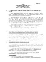 Düzce İl Bilgileri - Teiaş 5. İletim Tesis ve İşletme Grup Müdürlüğü