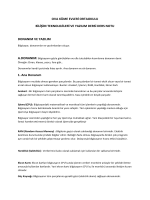 BTY Dersi Donanımlar ve Yazılımlar Konusu