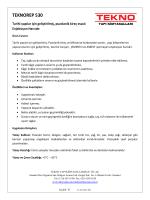 TEKNOREP 530 - Tekno Yapı Kimyasalları