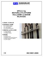 TEK KİŞİLİK - Sungurlar Asma İskele San. Tic. ve A.Ş