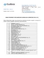 2014-31 vergi ödemesi yapılabilecek bankalar