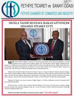 Sayı- 12 - Fethiye Ticaret ve Sanayi Odası
