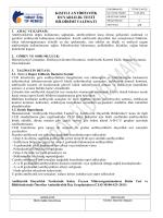 TOTM-TLM-120 Kısıtlı Antibiyotik Duyarlılık Testi Bildirimi Talimatı