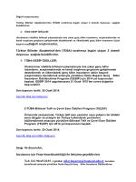 TÜBA GEBİP Ödülleri ve TÜBA-TEÇEP Eser Ödülleri Başvuruları