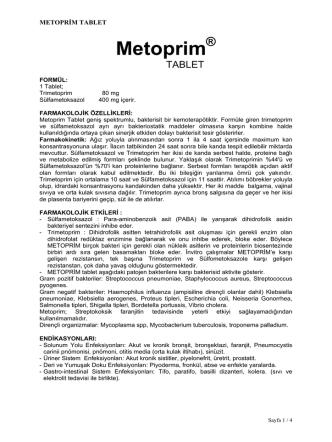 ASPİNAL TABLET - Reçete Rehberi