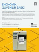DÖKÜMAN İNDİRZebra 105SLPlus Advert A4 HR TK