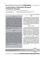PDF Fulltext - Gaziantep Medical Journal