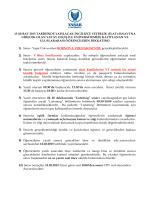 13/02/2015 FLAT DUYURU(Yatay Geçiş Öğrencileri&Uluslarası