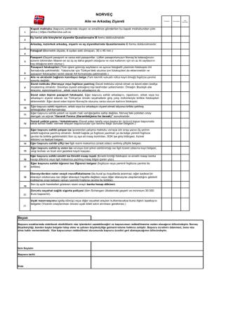 Checklist Aile Arkadaş Ziyareti