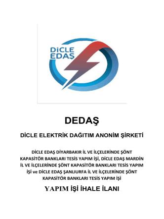 DEDAŞ - Dicle Edaş