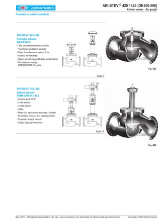 ARI-STEVI® 425 / 426 (DN300-500)
