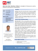 OMV Petrol Ofisi, GlassHouse Türkiye`nin desteğiyle 38