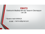 Elektronik Medikal AR-GE Tasarım Otomasyon Ltd. Şti.