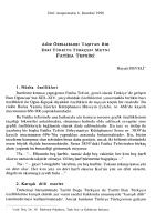 KARBOHİDRAT METABOLİZMASI II Fermentasyon, Glukoneojenez