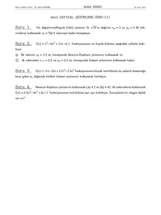 bm202 sayısal çözümleme ödev-ııı