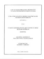 Toplu İş Sözleşmesi - Tapu ve Kadastro Genel Müdürlüğü