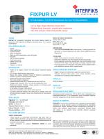 FIXPUR LV - İnterfiks Yapı Kimyasalları