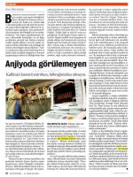 """""""Anjiyoda Görülemeyen"""", Newsweek"""